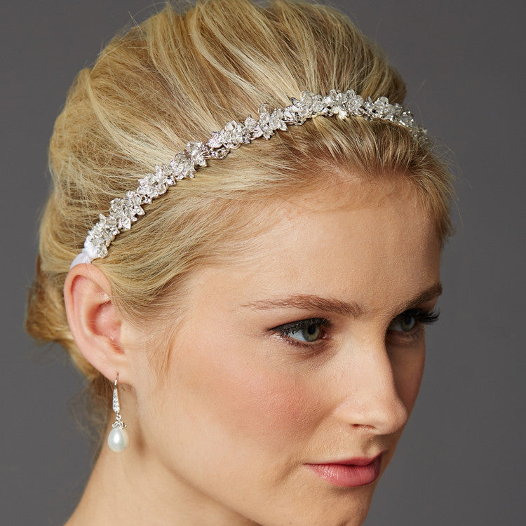 Bodin Bridal Headband - Hair Accessories - Headbands,Tiara - Roman & French