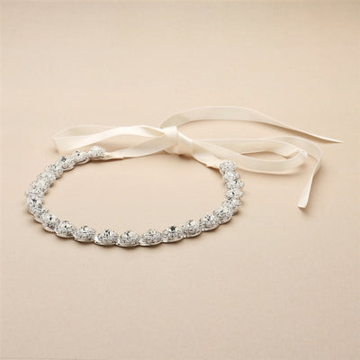 Bonar Bridal Headband - Hair Accessories - Headbands,Tiara - Roman & French