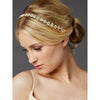 Bonar Bridal Headband Gold - Hair Accessories - Headbands,Tiara - Roman & French