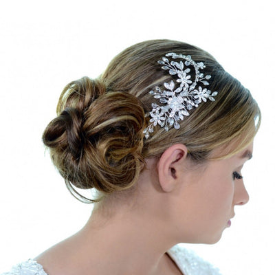 Bridget Bridal Headpiece - Roman & French  - 2