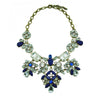 Broussard Necklace (Dark Blue) - Bridal Necklace - Roman & French