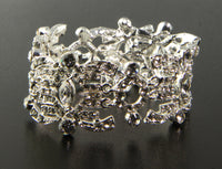 Brunetta Bridal Bracelet - Roman & French  - 2