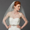 Cadence Bridal Veil - Ivory - Veils - Traditional - Roman & French