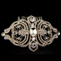 Cannes Bridal Hair Comb - Roman & French  - 3