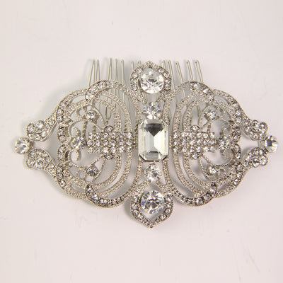 Cannes Bridal Hair Comb - Hair Accessories - Hair Comb - Roman & French