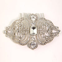 Cannes Bridal Hair Comb - Roman & French  - 2
