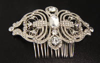 Cannes Bridal Hair Comb - Roman & French  - 5