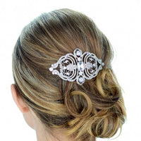 Cannes Bridal Hair Comb - Roman & French  - 1