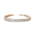Cara Bridal Bracelet - Light Rose Gold