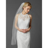 Carel Bridal Veil - White - Roman & French
