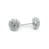 Carin Bridal Earrings - Roman & French