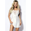Carla Satin with Lace Chemise - Bridal Lingerie - Slips - Roman & French