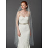 Carolyn Bridal Veil - Ivory - Roman & French