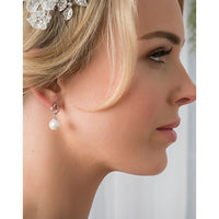 Catie Bridal Earrings - Roman & French  - 1
