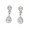 Cecil Bridal Earrings Clip On - Roman & French  - 1