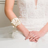 Ceres Bridal Cuff Gold - Bracelet Wedding - Roman & French