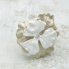 Ceres Bridal Cuff White - Bracelet Wedding - Roman & French