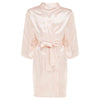 Chanel - Peach Blush Satin Robe (Personalised)