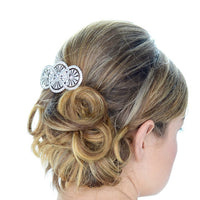 Chantilly Bridal Hair Comb - Hair Accessories - Hair Comb - Roman & French