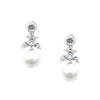 Charity Bridal Earrings - Roman & French