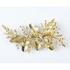 Chiara Bridal Hair Comb Gold - Roman & French