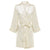 Chloe - Ivory Satin Robe -DISCONTINUED ROBE. LIMITED SIZES WHILE STOCKS LAST.