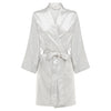 Coco - Off White Satin Robe (Personalised)