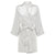 Coco - Off White Satin Robe