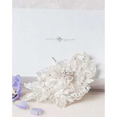 Cody Bridal Hair Comb - Roman & French  - 2