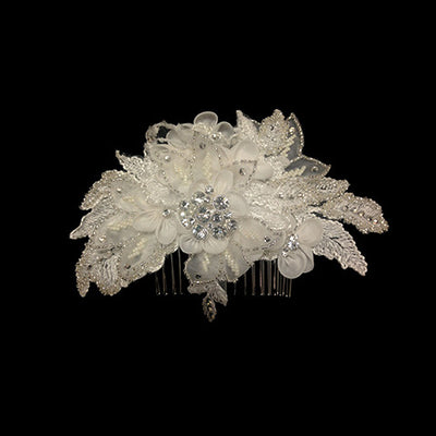 Cody Bridal Hair Comb - Roman & French  - 3