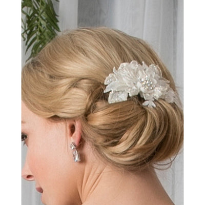 Cody Bridal Hair Comb - Roman & French  - 1