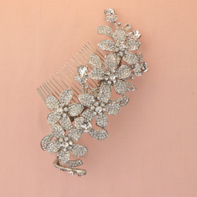 Cordelia Bridal Hair Comb - Roman & French  - 3