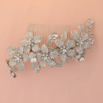 Cordelia Bridal Hair Comb - Roman & French  - 2