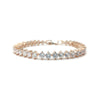 Cyndi Bridal Bracelet - Light Rose Gold - Roman & French