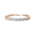 Cyndi Bridal Bracelet - Light Rose Gold