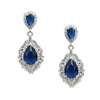 Cynthia Earrings (Dark Blue) - Roman & French