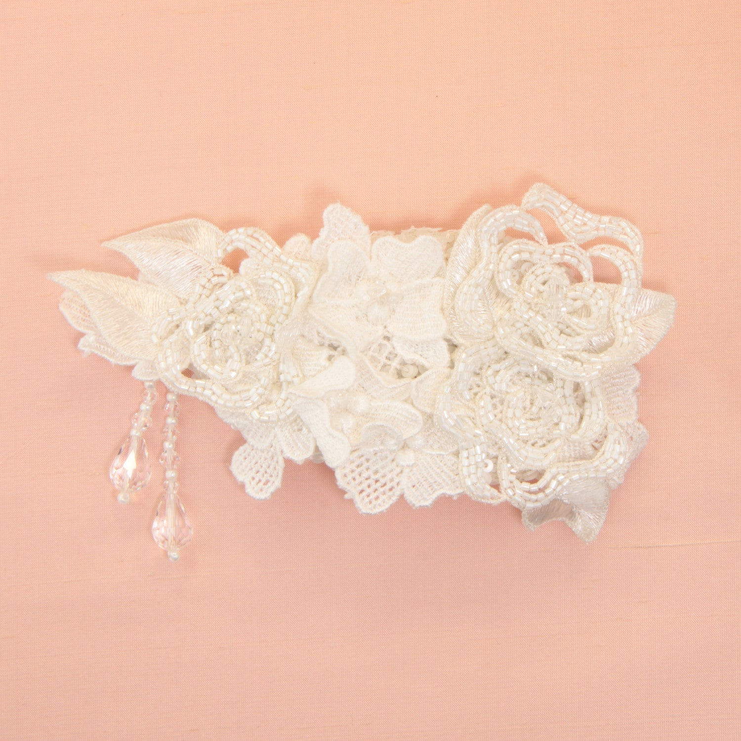 Dajana Bridal Headpiece - Hair Accessories - Hair Comb - Roman & French