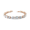 Darcey Bridal Bracelet - Light Rose Gold - Roman & French  - 1