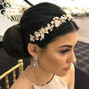 Darcy Bridal Crown - Hair Accessories - Tiara & Crown - Roman & French