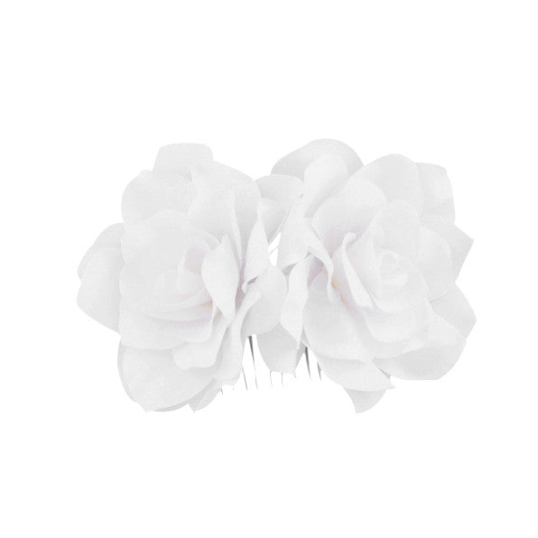 Deborah Bridal Hair Comb - Hair Accessories - Flowers - Roman & French