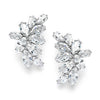 Decima Bridal Earrings - Earrings - Glamour Stud - Roman & French