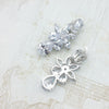 Doralynn Bridal Earrings Clip On - Roman & French