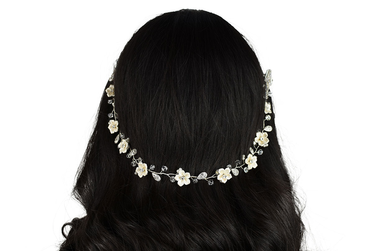 Elane Bridal Hair Vine