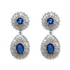 Eliane Earrings (Blue) - Roman & French