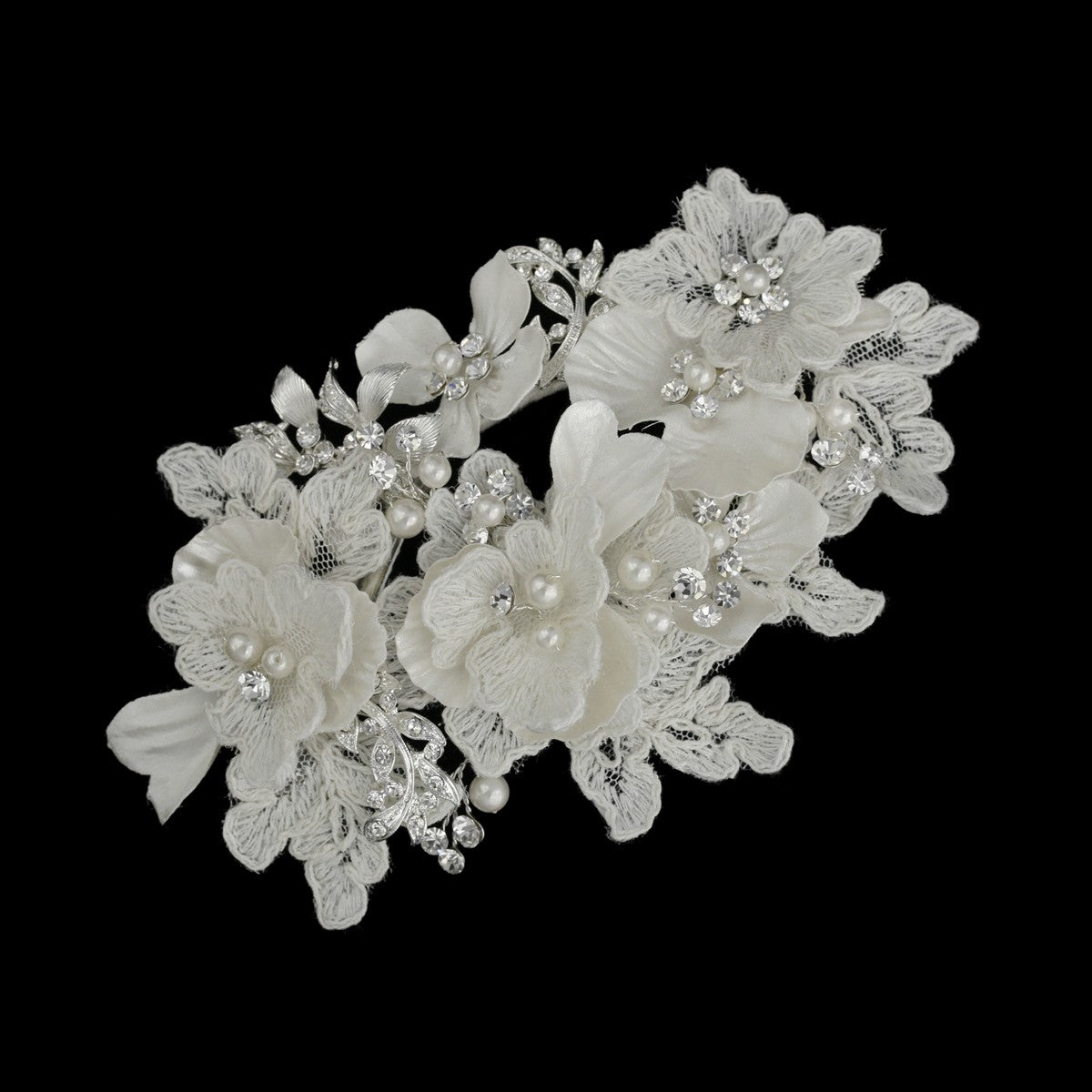 Elvera Bridal Hair Piece - LAST OF - DISCONTINUED - WILL NOT BE RESTOCKED