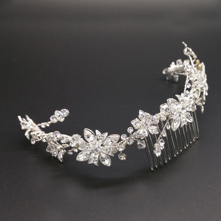 Emma Bridal Headpiece - Hair Accessories - Headpieces - Roman & French