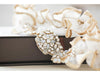 Eva Bridal Garter - IN STOCK