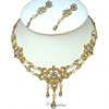 Bron - Bridal Bracelet & Necklace Set - Roman & French