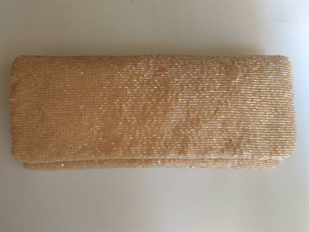 Jeet Bridal Clutch (New Taupe)