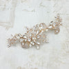 Farah Bridal Headpiece - Rose Gold - Hair Accessories - Headpieces - Roman & French